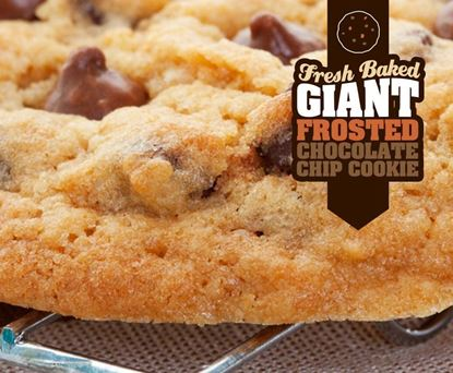 Gifts From Home - Giant Frosted Chocolate Chip Cookie